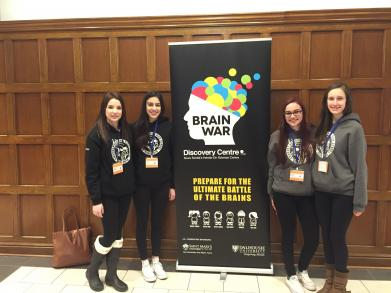 ARHS Students compete in Brainwars at Dalhousie University.